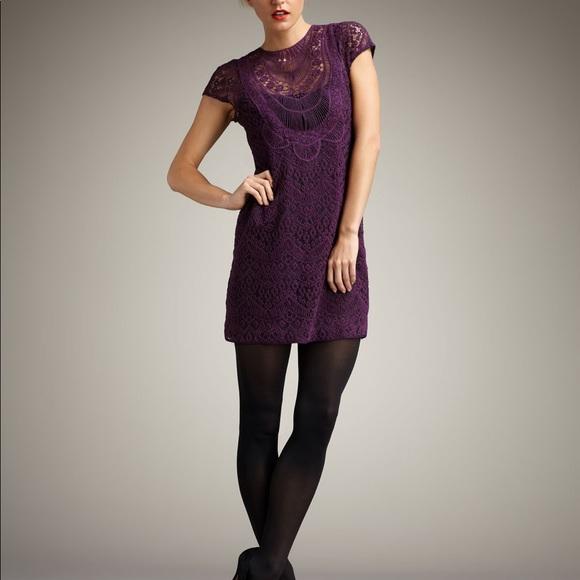 Nanette Lepore Lace Dress